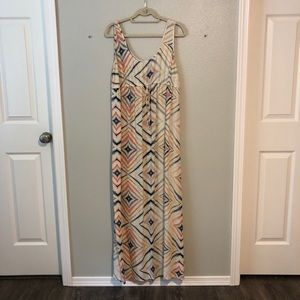 Old navy maternity maxi dress size M